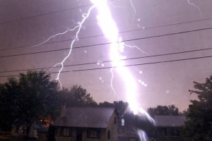 Опасные воздействия молнии